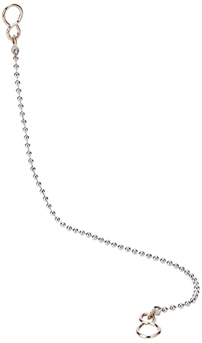 Merriway BH02250 Ball Type Basin Chain with S Hook, 300mm (12 inch) -...
