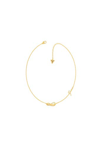 Guess Pave Infinity 32014004 Women's Necklace Stainless Steel one size Gold