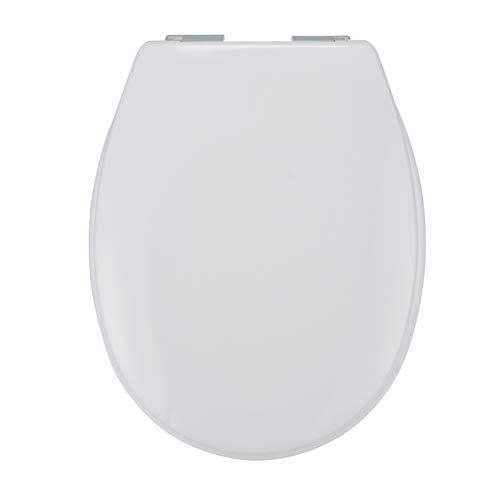 HI WC-Sitz Weiss, mit Absenk-Automatik Softclose, Toilettendeckel