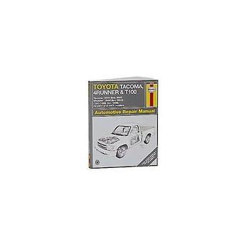 Toyota 4Runner 1996-2002 Haynes USA Workshop Manual