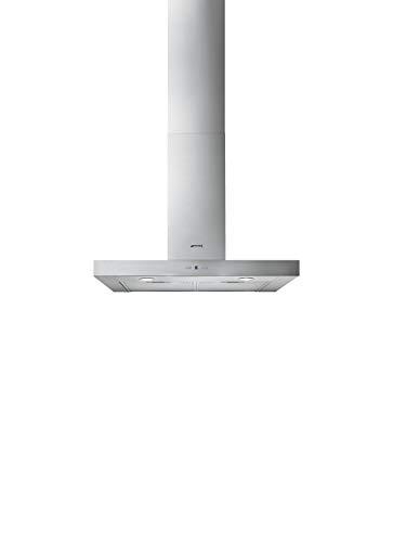 Smeg KAT700HXE Monté au mur Acier inoxydable 750m³/h B hotte - Hottes (750 m³/h, B, A, D, 62 dB, 46 dB)