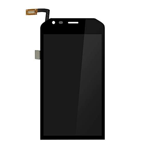 Kit de accesorios para Caterpillar Cat S40 pantalla LCD+reemplazo de pantalla táctil digitalizador Asamblea Panel de reparación de teléfono de vidrio reemplazo de pantalla de teléfono (color: negro)