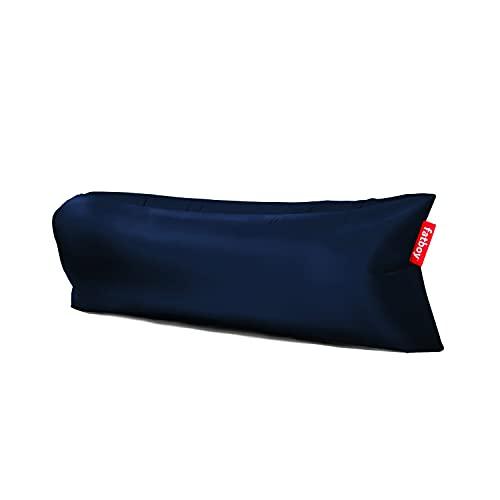 Fatboy® Lamzac The Original 3.0 Dark Blue | Aufblasbares Sofa/Liege, Sitzsack mit Luft gefüllt | Outdoor geeignet | 185 x 83 x 50 cm