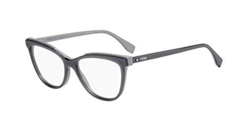FENDI FF 0255 KB7 53 Gafas de sol, Gris (Grey), Mujer