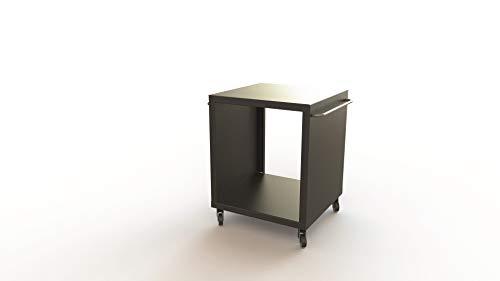 Morsoe Grill-/ Gartentisch klein, schwarz