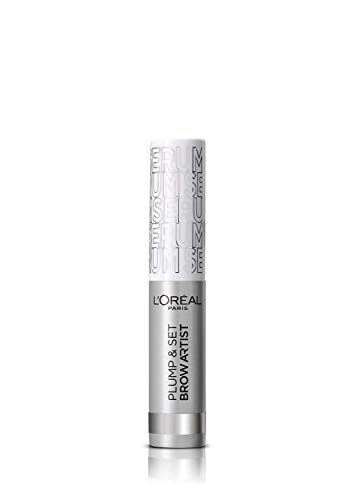 L'Oréal Brow Artist Plum & Set Máscara de Cejas, 000 Transparent