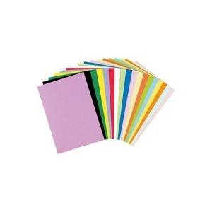 (業務用5セット)リンテック 色画用紙R/工作用紙 【A4 50枚×5セット】 レモン ds-1474169