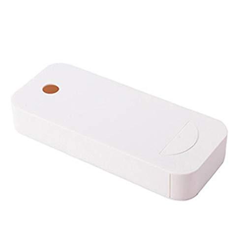 Berrywho -Autoadhesiva Caso de Almacenamiento de la Tabla Bajo cajón de plástico gaveta Debajo del Escritorio Colgante de la Caja de lápiz Organizador de Oficina en casa Escuela 4PCS