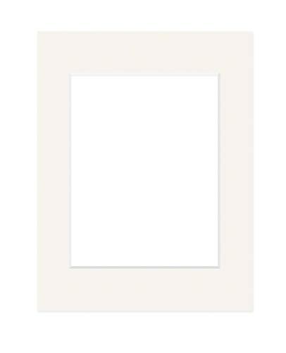 Deha Passepartout Karton 30x40 cm für Bilder im Format 20,5x29,5 cm (DIN A4), Elfenbein