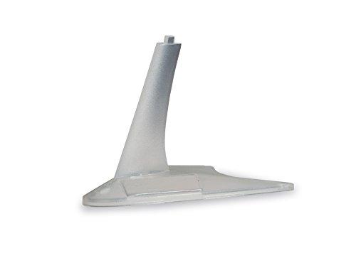 herpa 521024 521024-Display Stands Flugzeug Miniatur zum Basteln, Sammeln und als Geschenk, 4 Stück, Mehrfarbig