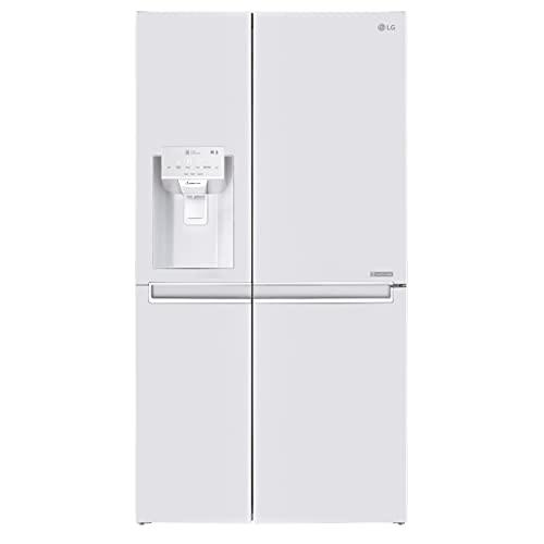 LG GSL760SWXV Frigorífico americano, 1'80m, Clasificación Energética F, Capacidad 668L, Blanco