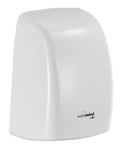 plikc EOLO Mini Asciugamani Elettrico a fotocellula in ABS (Bianco)