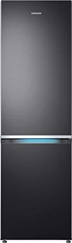 Samsung RB8000 Kühl-/Gefrierkombination RL36R8739B1/EG, 202 cm, 368 L, Premium Black Steel, Kitchen Fit, Cool Select Plus, Grifflicht