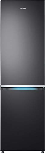 Samsung RB8000 RL36R8739B1/EG Kühl-/Gefrierkombination, 202 cm, A+++, 357 L, Premium Black Steel, Kitchen Fit, Cool Select Plus, Grifflicht