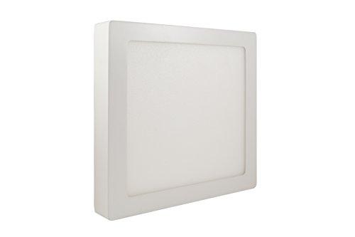 18W Pannello Luce Plafoniera Quadrato 90 LED 2835 SMD Bianco Caldo AC90-240V