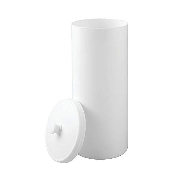 mDesign Portarrollos de pie – Dispensador de papel higiénico para el