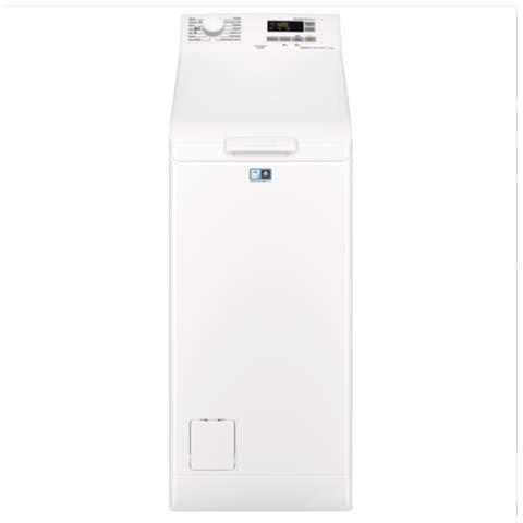 Electrolux EW6T560U - Lavatrice carica dall'alto, libera installazione, 6 kg, Classe A+++, da 60 cm