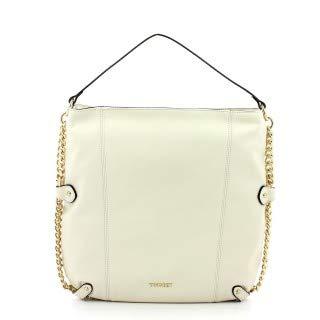 Hobo Bag con catena Twin Set ANTIQUE WHITE