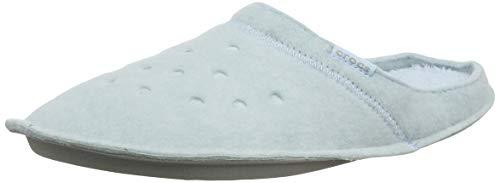 Crocs Crocs Classic Slipper 203600-4JZ, Damen Niedrig, Classic Slipper-Mineral Blue/Mineral Blue, 37/38 EU