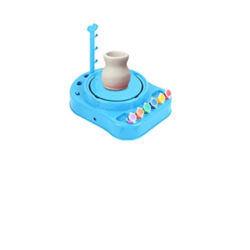 JUDIG El molinillo de cerámica portátil es ideal para cursos escolares o para la fabricación de exquisitas cerámicas y decoraciones.