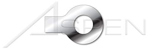 M10 300 pcs Metric DIN 432 External Tab A4 Stainless Steel OD=26mm Keyed Washers ID=10.5mm THK=1mm