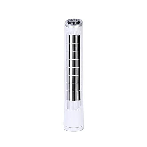 Ventilatore a Torre da Terra per Uso Domestico, Ventilatore Elettrico con Design oscillante, Motore Super Power 60W, Adatto per la casa e L'Ufficio