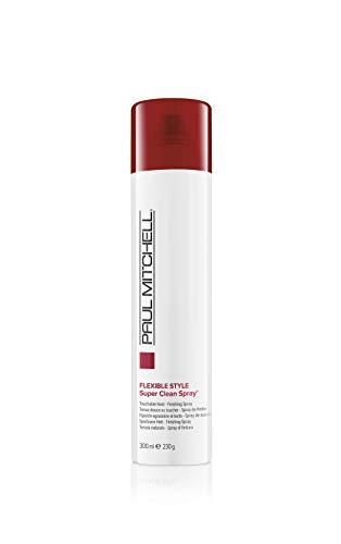 Paul Mitchell Super Clean Spray - Finishing-Spray für mehr Fülle, Profi-Haarspray in Salon-Qualität, parabenfrei - 300 ml
