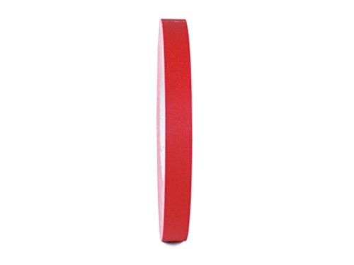 T.R.U. CGT-80 Red Gaffers Stage Tape with Rubber Adhesive, 1/2 in. Wide x 60 Yards Length, 12MIL Thickness (Pack of 1)