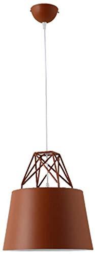 JIAN Exquise lighting ZjNhl ijzeren kroonluchter single Head Noord-Europa eenvoudige en elegante Adjustable postmoderne persoonlijkheid ideeën uit aluminium hanglamp restaurant woonkamer kleur plafond