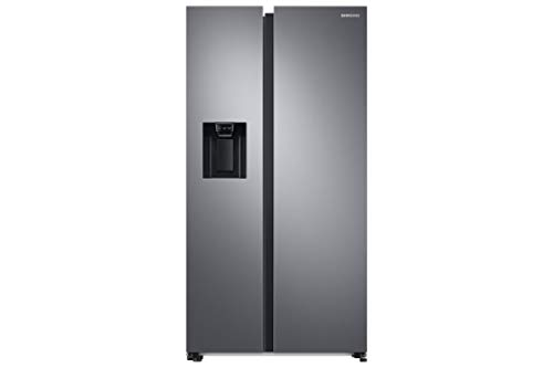 SAMSUNG MDA RS68A8522S9 - Frigorífico Side by Side, 617L, Inox, Twin Cooling Plus, Smart Conversion 5 en 1, Precise Cooling, Compresor Digital Inverter y Sistema No Frost