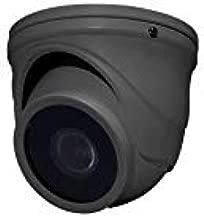Speco HINT71TG Network Camera 2MP, Mini-Turret, WDR, OSD, Day/Night, 1920 x 1080 Resolution, 2.9 MM Fixed Lens, 12 Volt DC, 100 Milliampere, Cast Aluminum, Dark Gray Housing