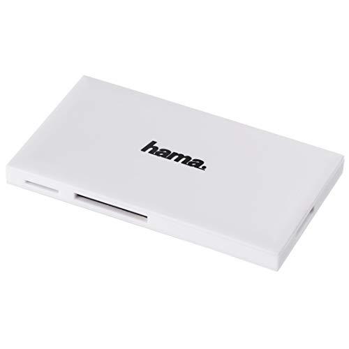 Hama USB-3.0-Multi-Kartenleser, SD/microSD/CF/MS, weiß