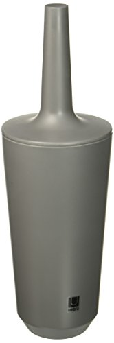 Umbra 1004478-149 Corsa Toilet Brush, WC-Büstenhalter aus Keramik, Grau