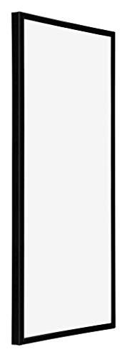 yd. Your Decoration - 30x60 cm - Bilderrahmen von Kunststoff mit Sicherheitsglas - Ausgezeichneter Qualität - Schwarz Hochglanz - UV-beständige Glasplatte - Antireflex - Fotorahmen - Annecy.