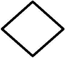 Amazon Com Diamond Outline Only Vinyl Car Decal Black 10 By 10 Inches Automotive Diamond clipart black and white. diamond outline only vinyl car decal