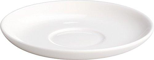 A di Alessi AGV30/77 All-Time - Set de Platos para Tazas de café (Porcelana, 4 Unidades)