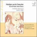 Sacred Music From France by Ensemble Organum
