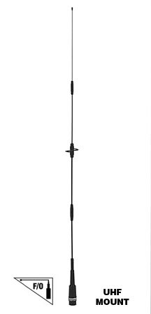 CA-2X4SRNMO CA2X4SRNMO CA-2X4SR(NMO) CA2XSR(NMO) Original Comet Dual Band VHF/UHF Mobile Antenna W/Fold-Over Hinge NMO Connector 140-160/435-465 MHz