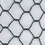 Pinnon Hatch Farms 1' Heavy Knitted Netting Poultry Plant Bird Aviary Fruit Garden Protection Net Nets - Break/Burst: 35/105 lbs. per mesh (25' X 50')