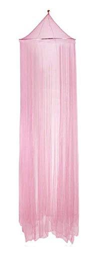 Mosquitera para cama de protección de mosquitos red grande portátil plegable color rosa ideal como regalo de cumpleaños fiesta