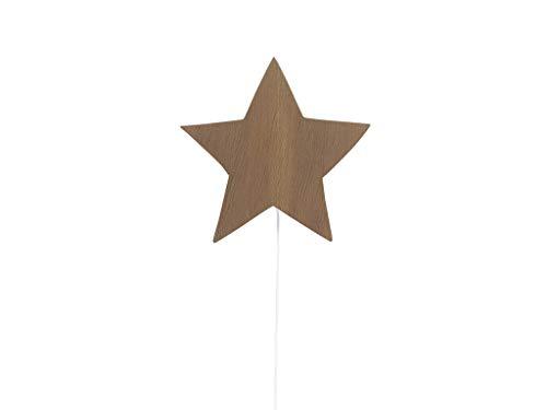 Ferm Living - Star wandlamp, gerookt eiken