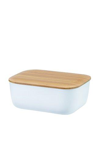 RIG-TIG Box-IT weiß Butterdose, Melamin, 15 x 12 x 7cm