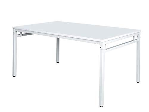 Klapptisch Besprechungstisch Kantinentisch Klappparer Tisch 120 x 60 cm Gestell lichtgrau/Platte lichtgrau 350660