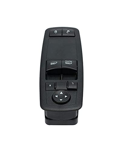 GUOQING Interruptor Maestro elevalunas eléctrico Fit For Dodge Grand Caravan 2008-2011 3.3L Interruptor de Ventana 04602627AG / 4602627AC / 4602627AD