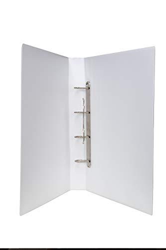 DIN A 3 Hochformat Ordner PVC in weiss 50 mm Rückenbreite, 4 er Mechanik, Füllhöhe...