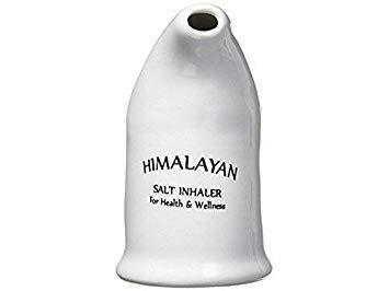 Goede gezondheid 100% Pure Himalaya Zoutpijp Keramisch met Zout Zeep Gratis voor allergieën
