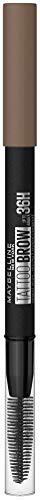 Maybelline New York Tattoo Brow 36H Nr. 2 Blonde, Augenbrauenstift, hält bis zu 36H, wasserfest, mit integrierter Bürste