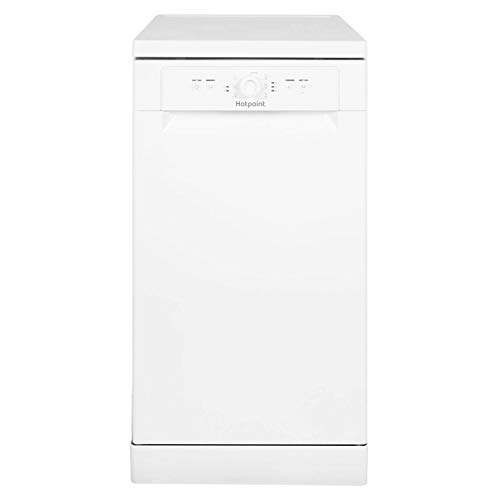 HOTPOINT HSFE1B19 Aquarius Slimline 10 Place Freestanding Dishwasher -...