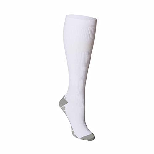 ZSQAW Medias de compresión Sport Soccer Socks Ciclismo al aire libre PRESERTE ELASTETIDAD CORRIENTE CORTANDO (Color : G, Size : Small)