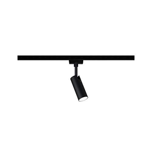 Paulmann 969.40 URail LED-Spot Tubo 4,5 W Schwarz matt/Chrom 4000K Metall/Kunststoff